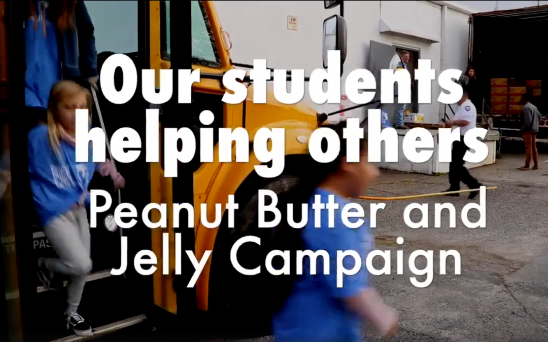Guardian Ad Litem Peanut Butter and Jelly Campaign at Carr Elementary