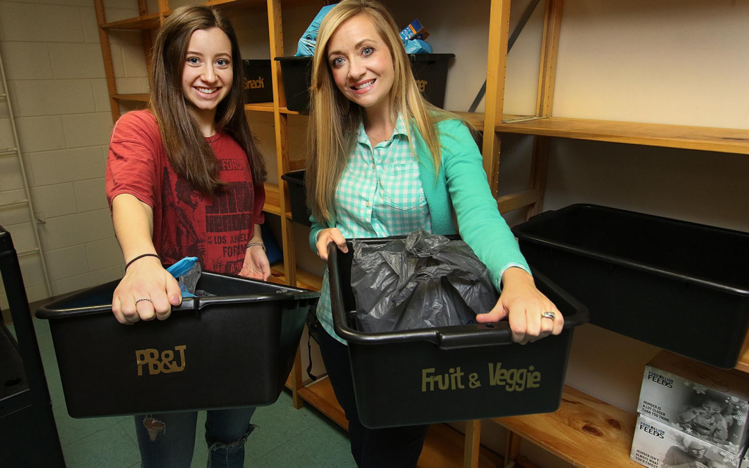 High school pantry feeds teens and their families